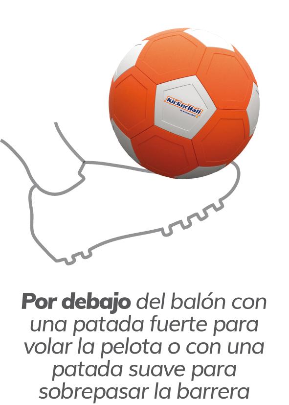 Kicker Ball debajo